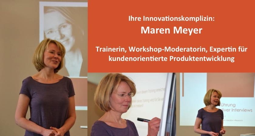 Innovationsexpertin Maren Meyer
