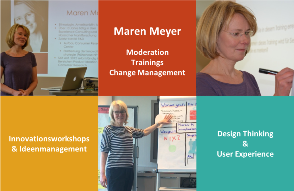 Maren Meyer, Innovation und Design Thinking