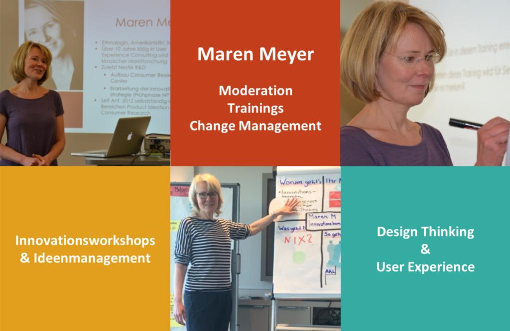 Maren Meyer, Innovation und Design Thinking
